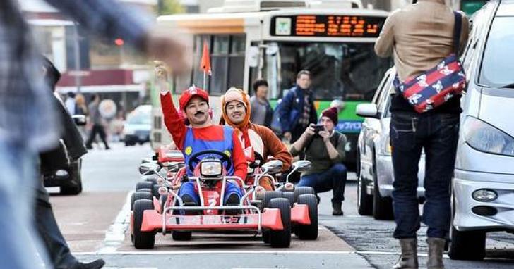 瑪利歐賽車被東京一間租車公司實體山寨?任天堂表示忍無可忍