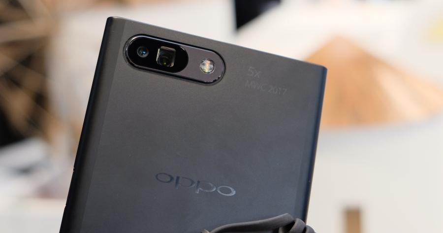 OPPO 秀出以潛望式雙鏡頭打造 5x 無損變焦手機拍攝效果的拍照新技術