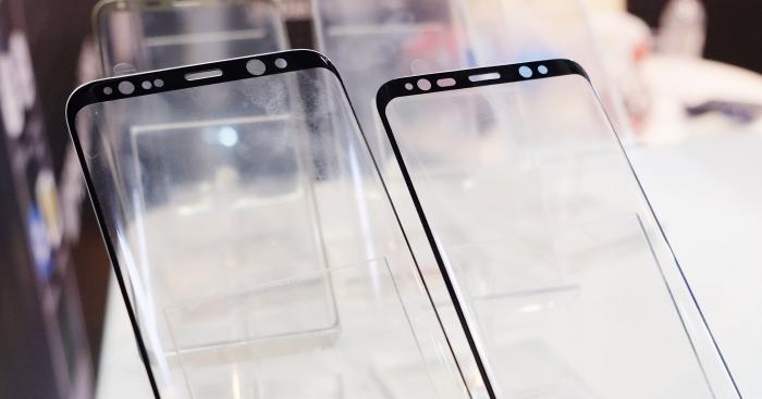 MWC 現場發現保護貼廠商曝光了三星 Galaxy S8 的保護貼