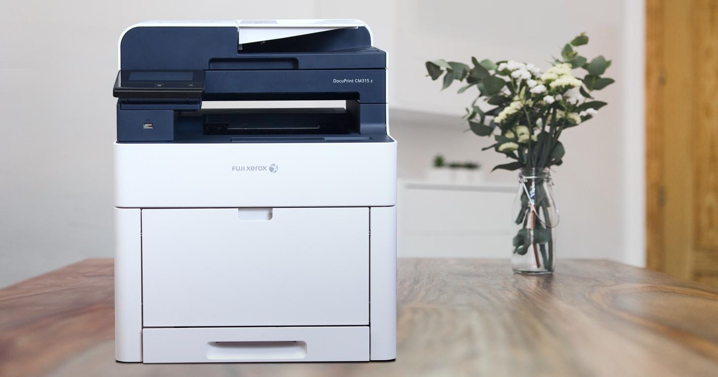 Fuji Xerox DocuPrint CM315 z,24倍快!高效多功彩色雷射複合機最佳選擇