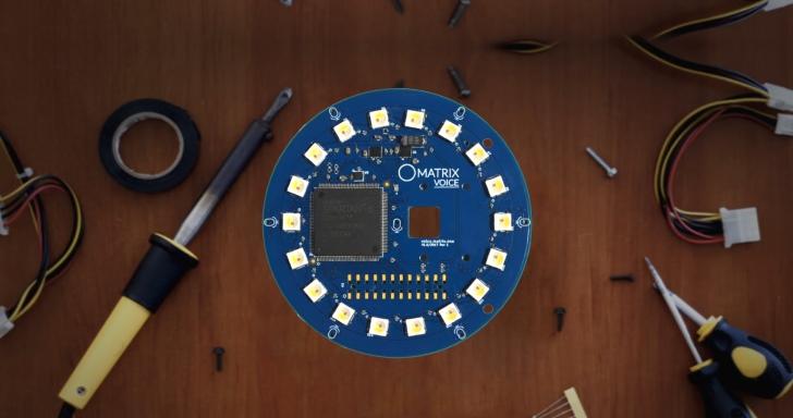 Raspberry Pi外掛神器,透過MATRIX Voice模組強化語音辨識功能
