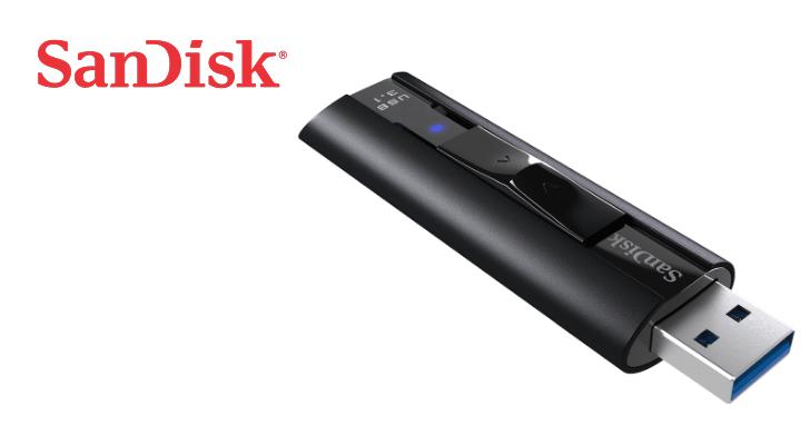 挑戰外接固態硬碟的存取速度,SanDisk Extreme PRO USB 3.1 隨身碟在台上市