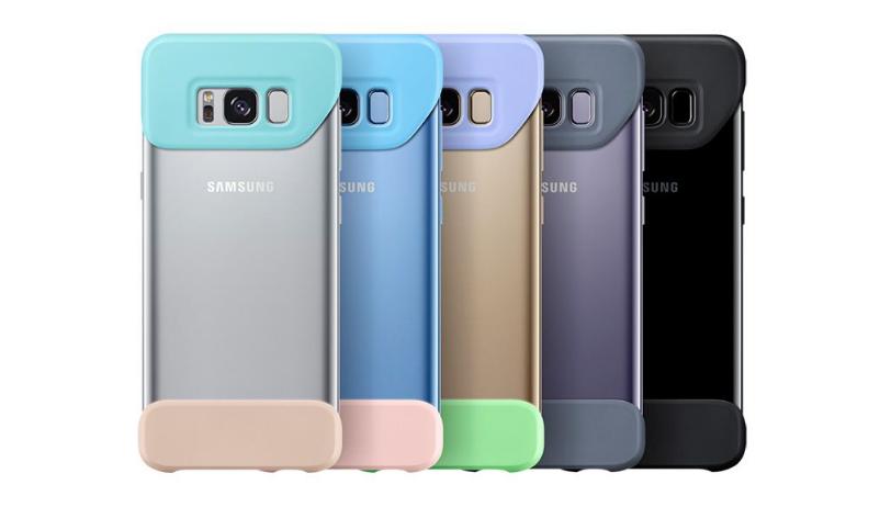 三星 Galaxy S8 配件登場,超創意組合式背蓋、鍵盤式背蓋很實用