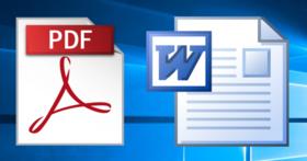 免下載軟體,3 個網頁直接線上將 PDF 轉成 Word 檔