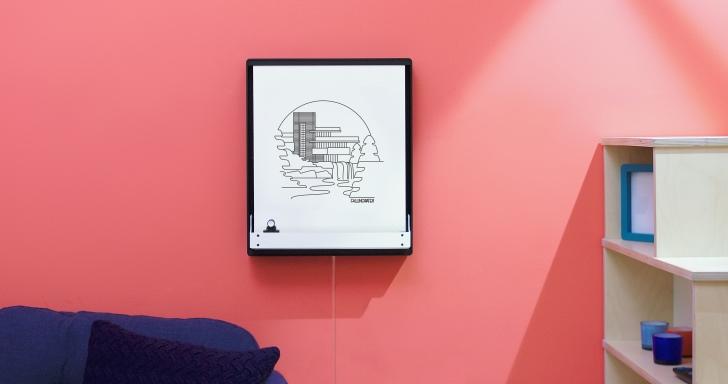另類簡訊,Joto電子白板畫出手機訊息