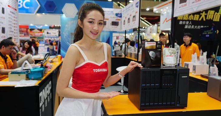 2017 春電展:QNAP 效能怪獸 TS-1685 現身,搭配 Toshiba NAS 硬碟合購更優惠