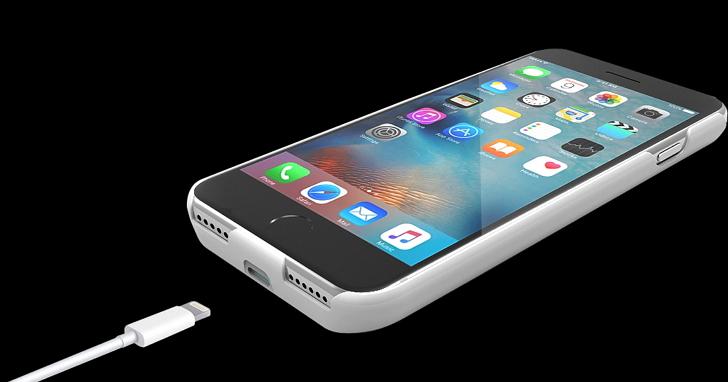 台灣製造「好充」背蓋式行動電源,搭載智慧型Apple Lightning介面讓iPhone充好充滿
