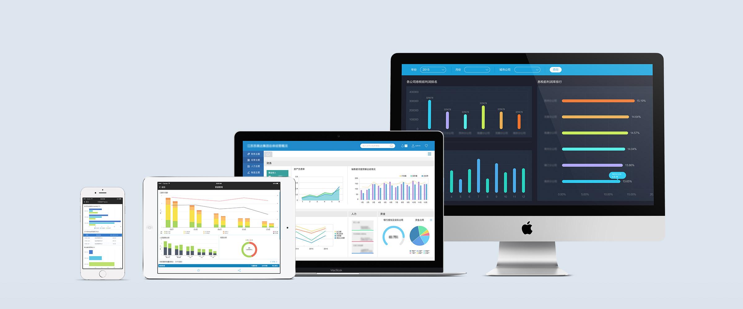 跨平台、易上手的企業級報表軟體 FineReport,讓科學化的數據分析支援你做出更正確的決策