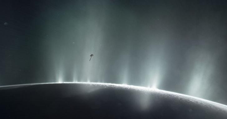 人類並不孤獨?NASA凌晨發佈重大訊息,土衛二和木衛二發現適宜生命存在環境證據