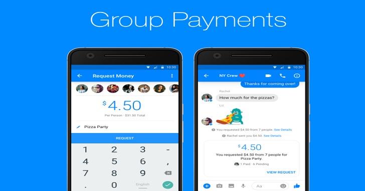 不用再為了搶著付帳打起來了!臉書 Messenger 支援群組成員線上付款,免密碼就能直接轉帳