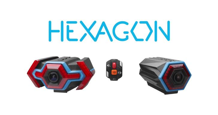 三寶退散,Hexagon單車行車記錄器還能提供警示功能