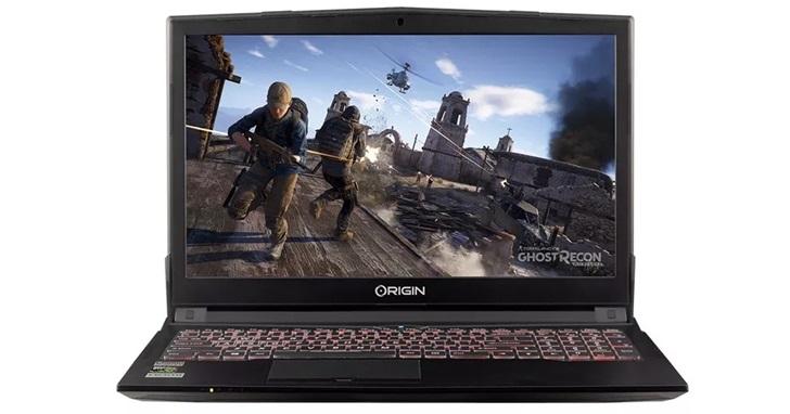 Origin 推出電競筆電 EON15-S,只要台幣三萬就能有 GTX 1050 ti 顯示卡