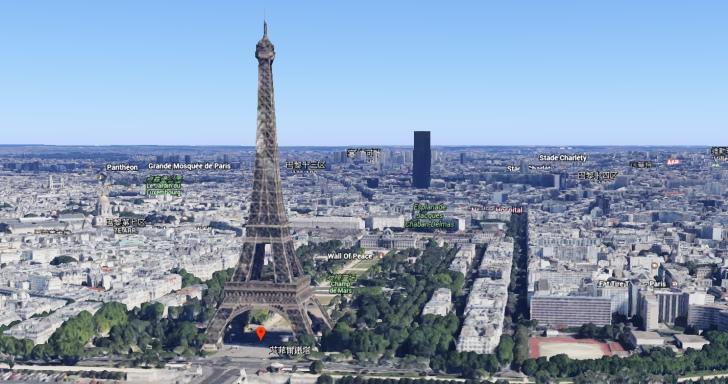Google Earth大更新,不但讓圖像立體化,還能利用VR觀賞