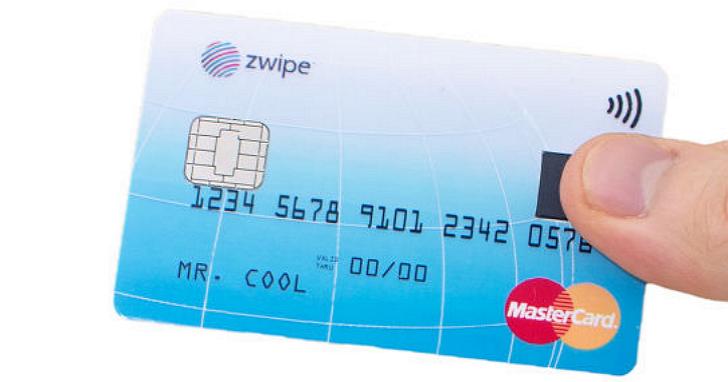 刷卡不用簽名,MasterCard 將要推出具備指紋辨識功能的信用卡