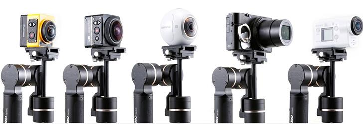 飛宇科技推出支援 360 相機的 G360 手持穩定器