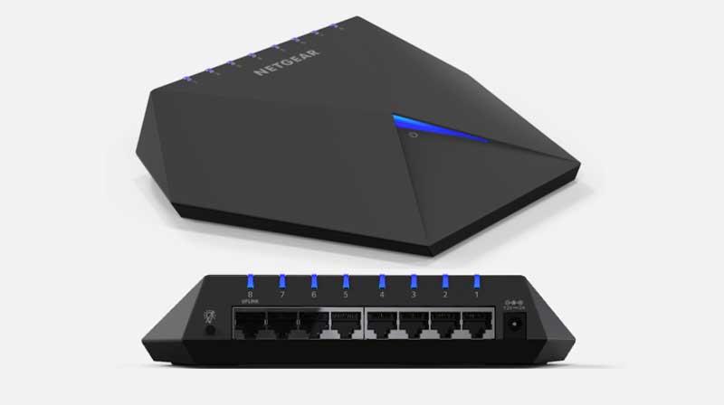 NETGEAR推出首台夜鷹交換器-S8000,為電競玩家打造近乎無延遲的高速網路遊戲環境!