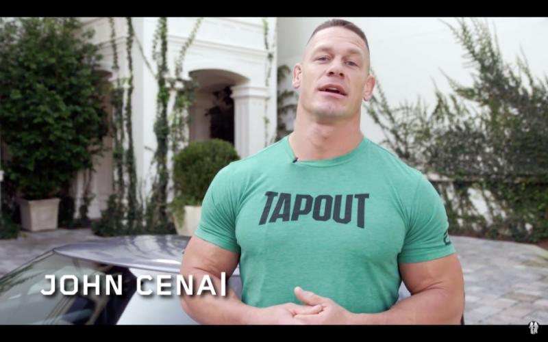 不只是摔角巨星,還是超跑車主!John Cena親自介紹座駕:Ford GT!