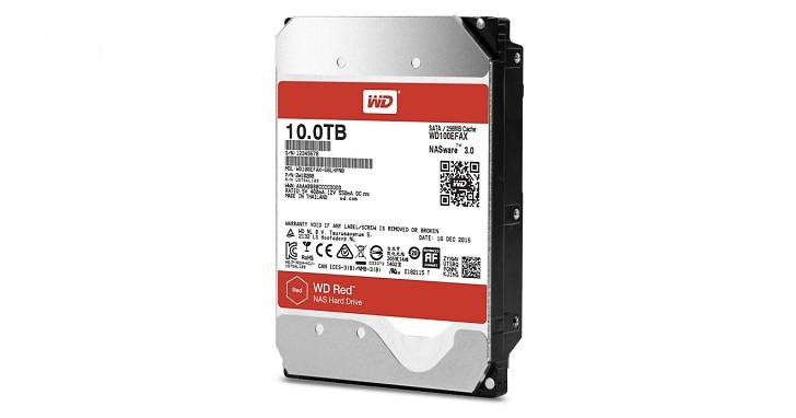 WD 推出容量達 10TB 的紅標氦氣充填 NAS 硬碟