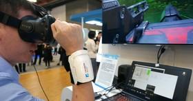 工研院獨家技術不需控制搖桿就能玩VR遊戲,原理測量肌肉震動