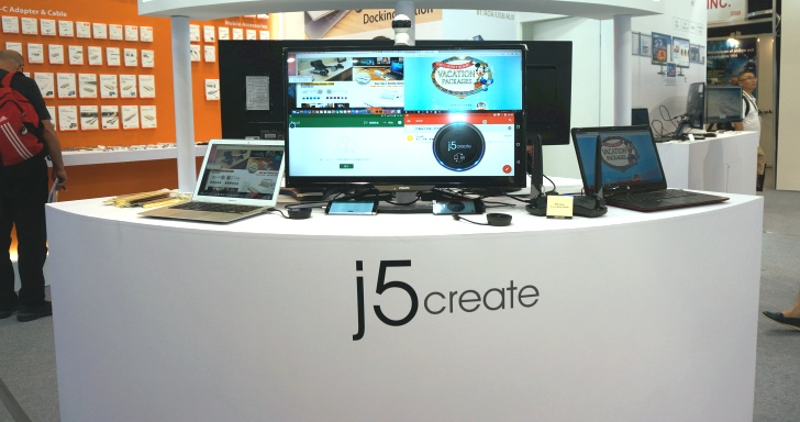 j5 Create全新會議系統,讓Windows、Mac、Android、iOS裝置都能無線連接至投影機