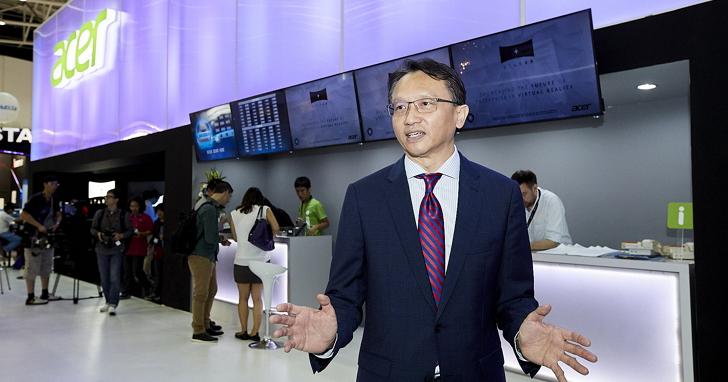 宏碁 Computex 打造影院級專屬體驗區嶄新的虛擬實境, 結合電競震撼全新體驗