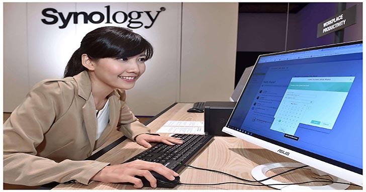 Synology 展出多項嶄新產品與前瞻應用