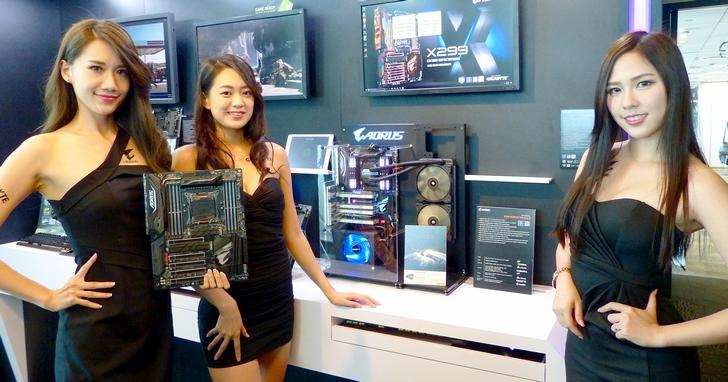 燈燈燈燈!外型內在兼具的 GIGABYTE X299 主機板與 BRIX GAMING VR