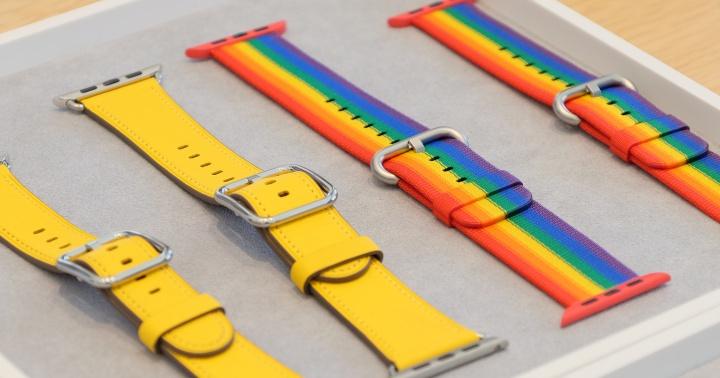 Apple Watch 錶帶更新,員工限定的彩虹版尼龍錶帶對外開賣