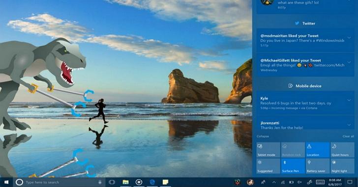 Windows 10 全新 Fluent Design 設計語言已正式在公測版上線