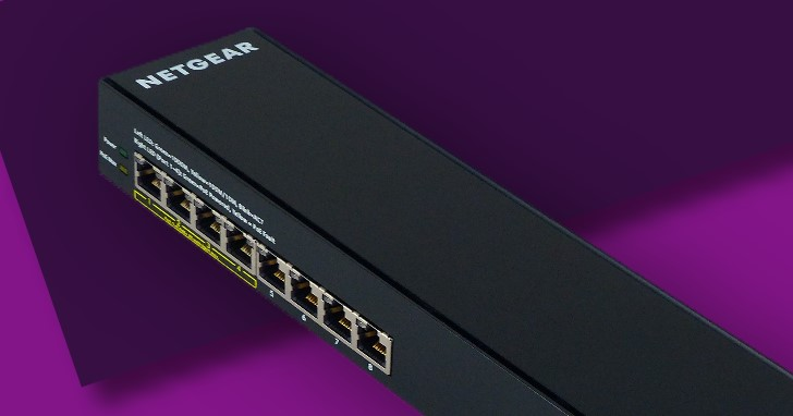 支援 PoE+ 的 Netgear GSS108EPP,簡易網管交換器好看好裝又好用
