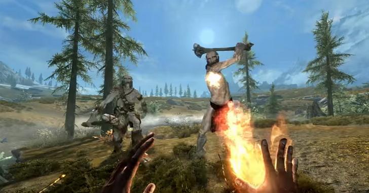 Sony在E3發佈多款VR遊戲,《上古捲軸V:無界天際》VR版現身