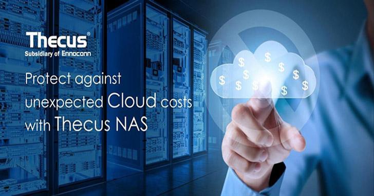 Thecus NAS 讓你擺脫無預期的儲存成本