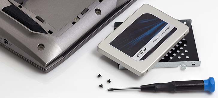安裝 SSD 很簡單,一次就上手