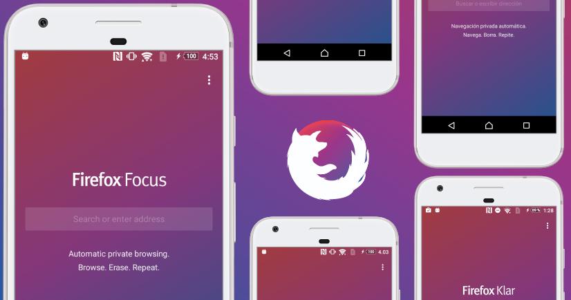 Mozilla 推出 Android 版高隱私瀏覽器 Firefox Focus,可攔截追蹤廣告、提高網路瀏覽速度