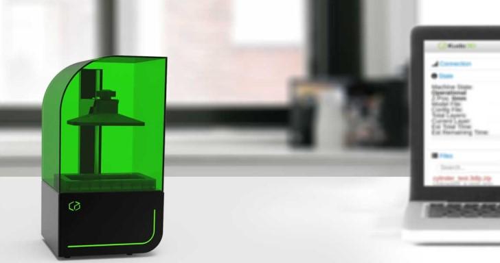SLA光固化3D印表機,Bean 3D最高精度可達10微米