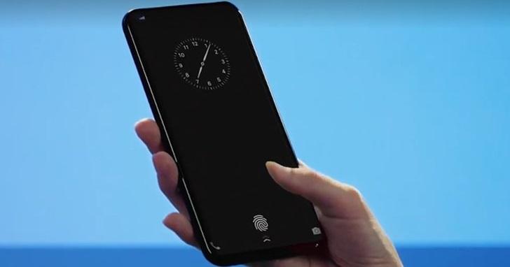 首款內嵌螢幕式指紋解鎖智慧手機現身,不再需要按鍵或是繞到背蓋上指紋解鎖!