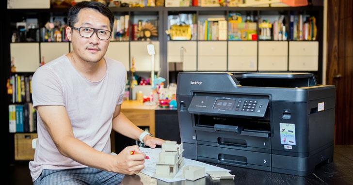 在家上班令人羡慕?一人公司需注意的A3噴墨印表機選購心得~梵璞空間設計師SOHO族甘苦談!