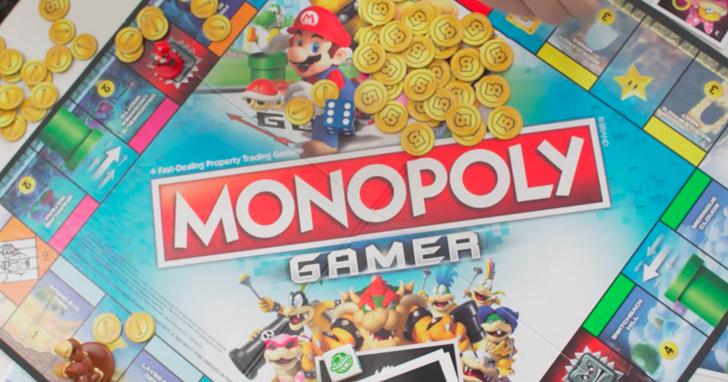 想當富翁還得打頭目,任天堂和 Hasbro 合作推超級瑪利主題的大富翁遊戲《地產大亨:瑪利歐冒險大挑戰》