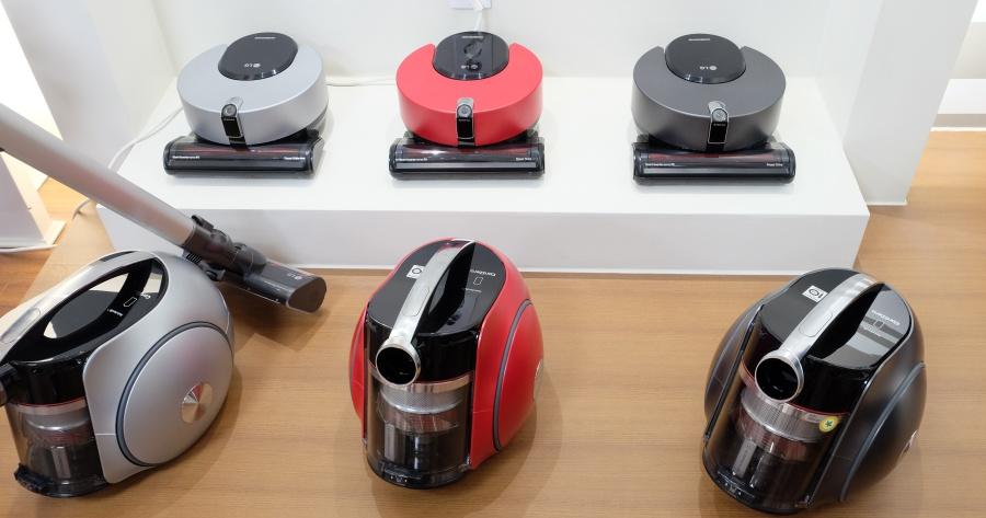 目標打敗 Dyson,LG 推出一系列 A9 手持吸塵器、R9 掃地機器人、T9 圓筒吸塵器