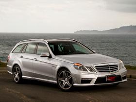 展現熱血的豪華旅行車:M-Benz E63 AMG Estate