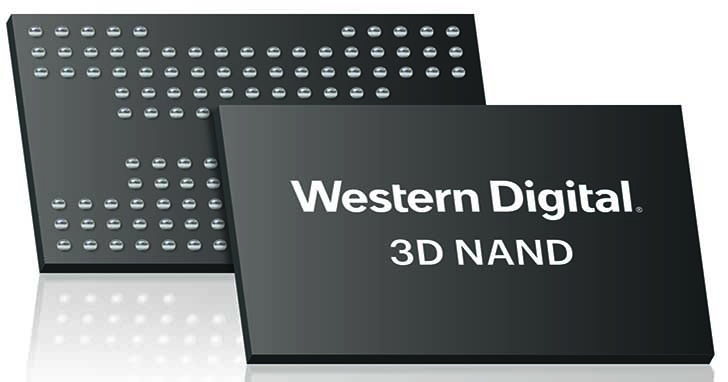 Western Digital推出業界首創96層3D NAND技術