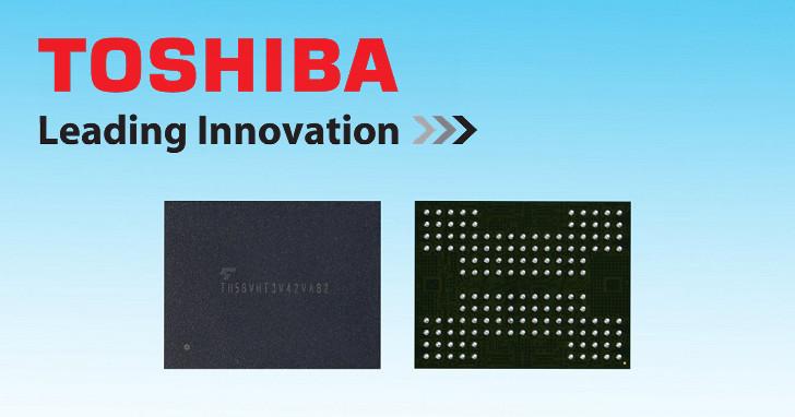 3D NAND 結合 TSV 技術,Toshiba 快閃記憶體容量上看 1TB