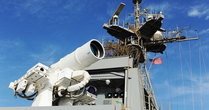 美國海軍開始測試雷射武器,射擊過程就像用搖桿玩 FPS 遊戲