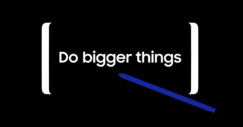 三星 Galaxy Note 8 要來了,8/23 一起「Do bigger things」