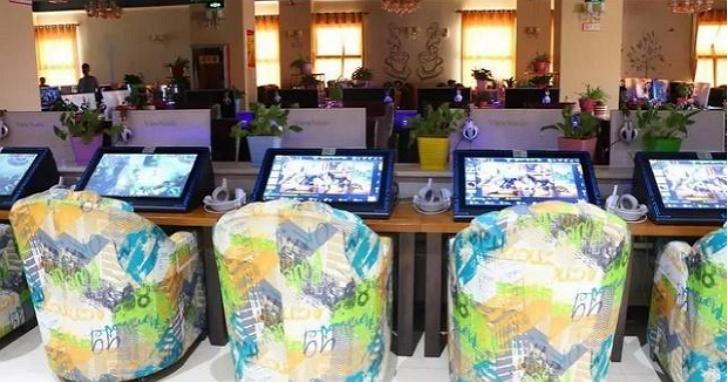 中國網咖針對《王者榮耀》推出大螢幕手遊專區,網友:根本正大光明開外掛