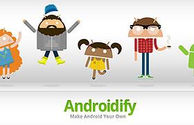 Android Market:自訂自己的小綠人 Androidify