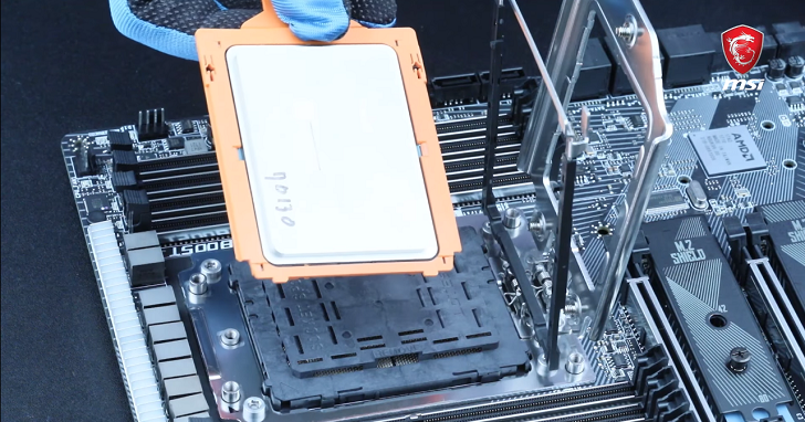 AMD Ryzen Threadripper 體型巨大,MSI 拍攝影片教你怎麼安裝處理器