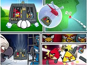 Angry Birds 前進里約,展開營救任務