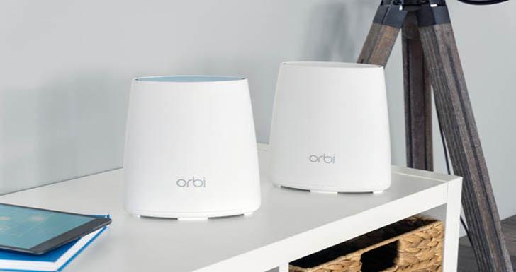 NETGEAR推出Orbi Mini三頻WiFi延伸系統 提供智慧家庭無死角WiFi環境