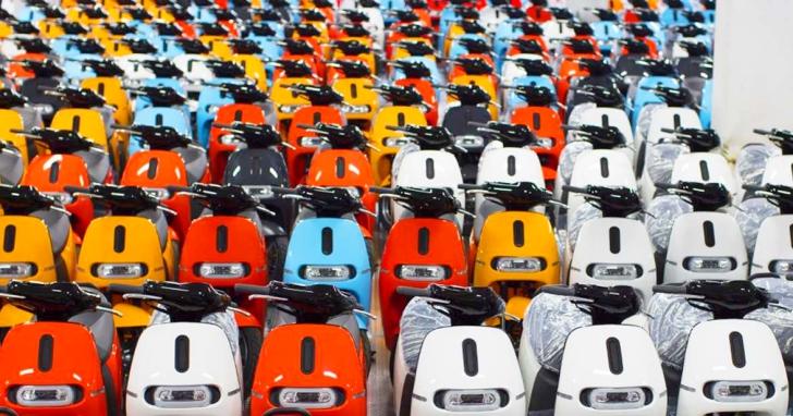 七月就賣了四千多台,Gogoro 掛牌數量創電動車記錄